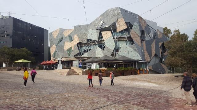 Federation square architecture