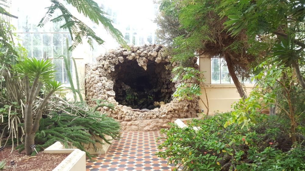 Jardin botanique serre