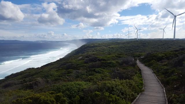 Éoliennes Albany Wind Farm