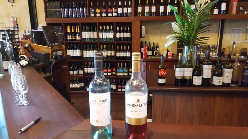 Sandalford Wines dégustation vin