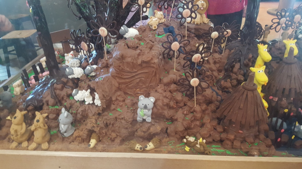 Chocolat sculpture