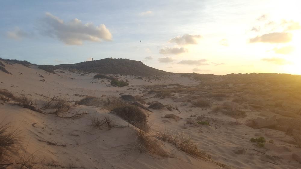 Exmouth dunes de sable